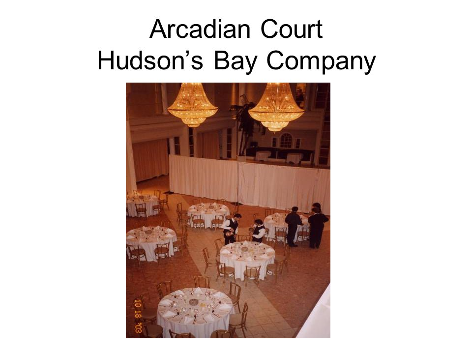 Arcadian Court Hudson's Bay Company