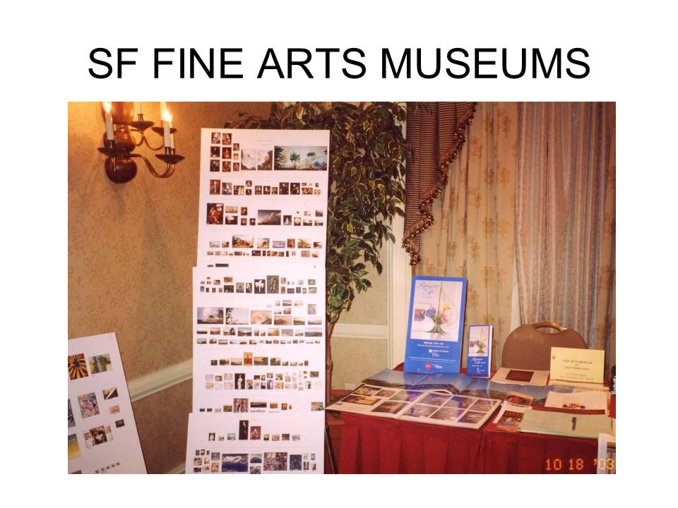 SF FINE ARTS MUSEUMS