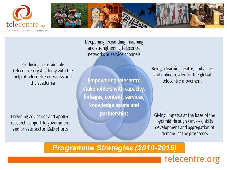 Programme Strategies (2010-2015)