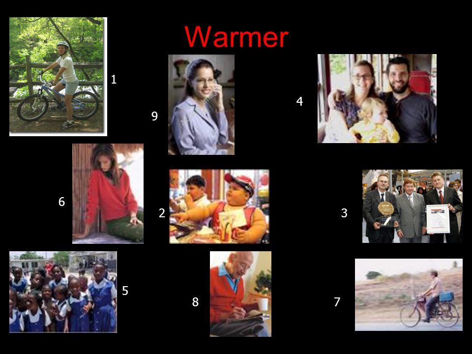 Warmer 1 23 4 5 6 78 9