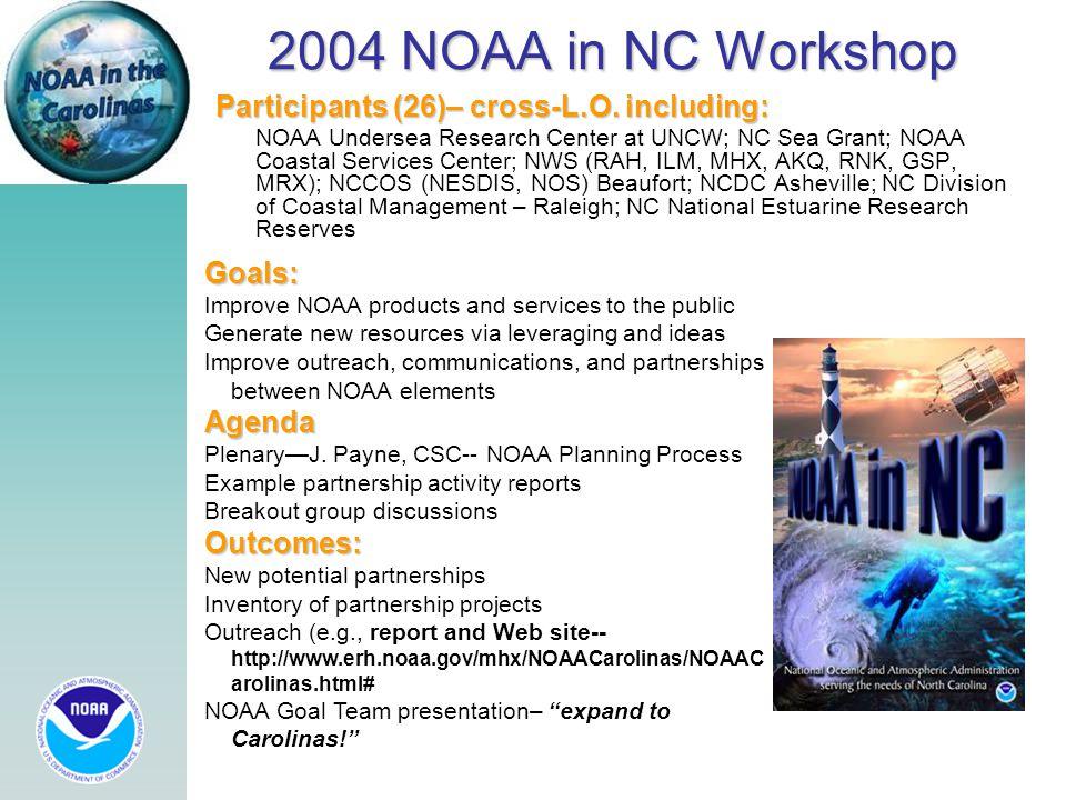 2004 NOAA in NC Workshop Participants (26)– cross-L.O.