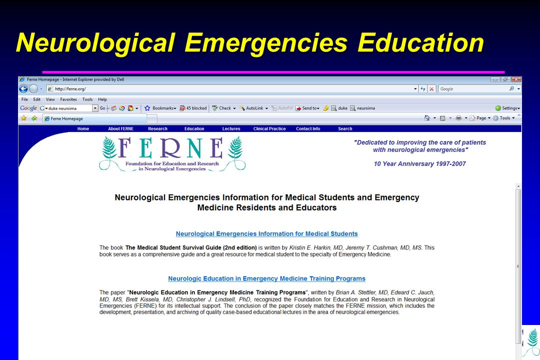 Edward P. Sloan, MD, MPH Neurological Emergencies Education