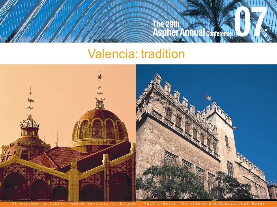 Valencia: tradition
