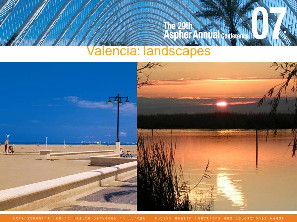 Valencia: landscapes