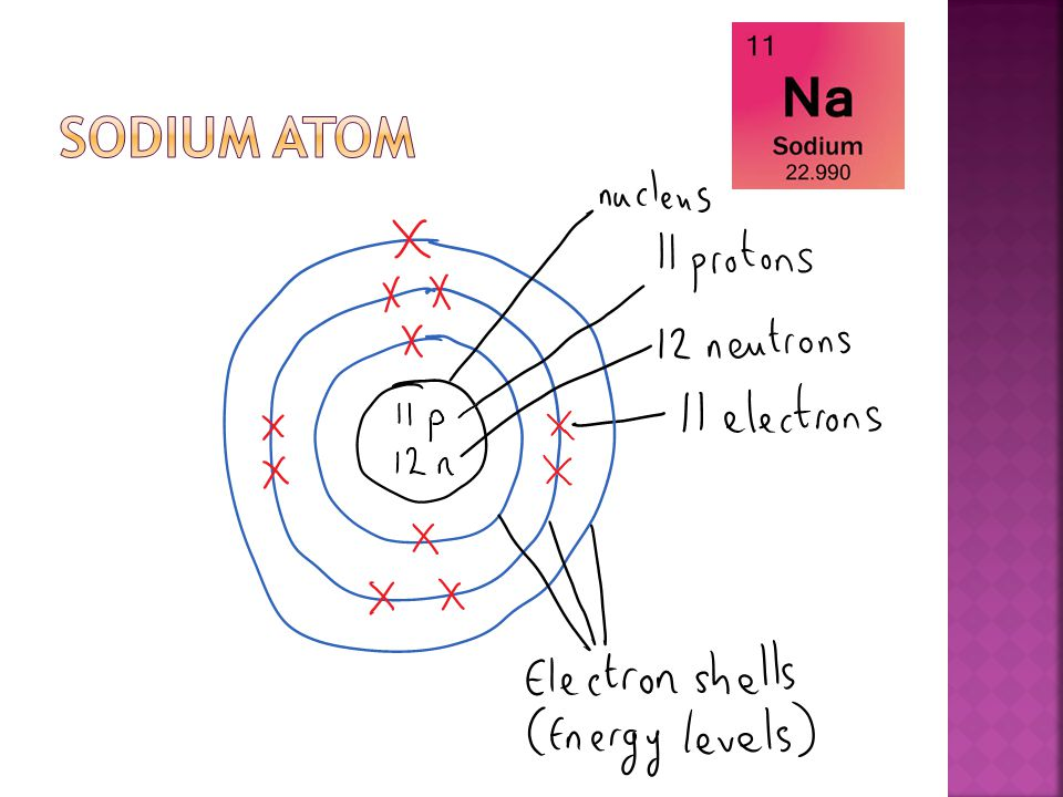  Using the same format draw atom diagrams for the following elements.