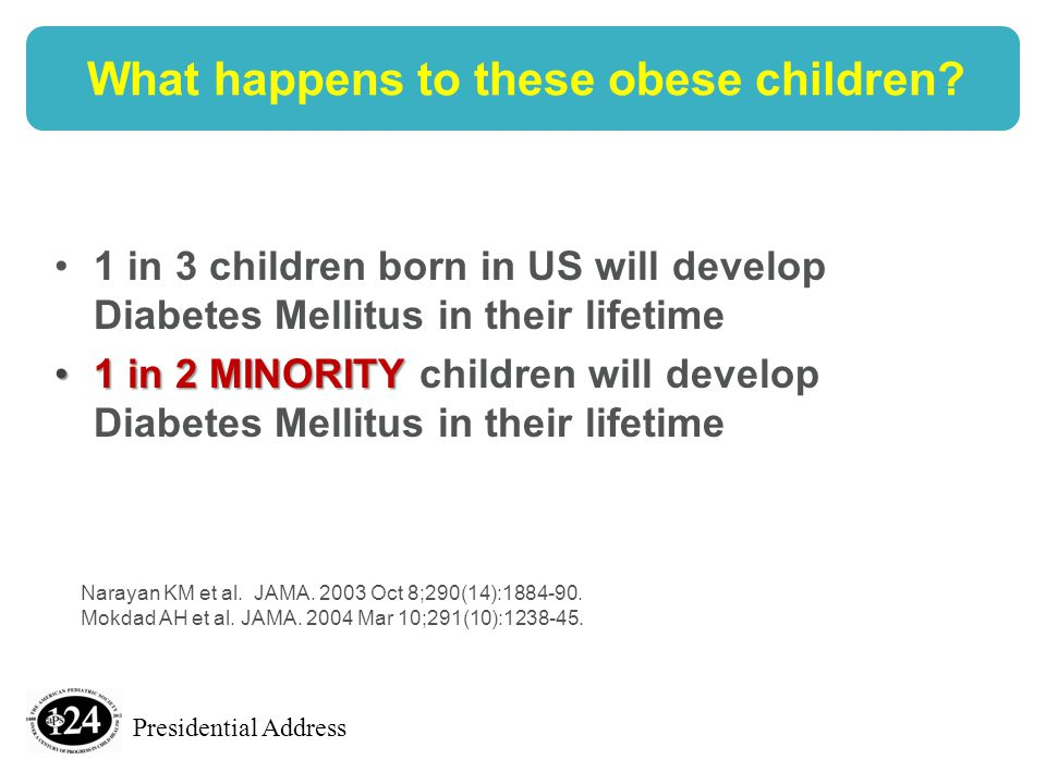 Presidential Address What happens to these obese children.