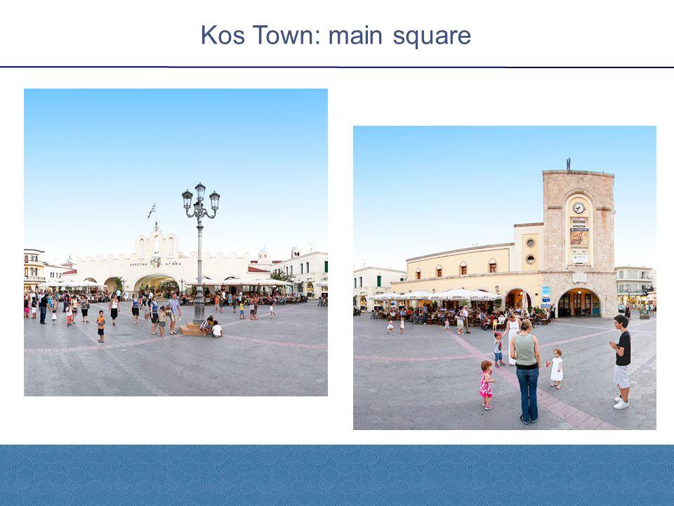 Kos Town: main square