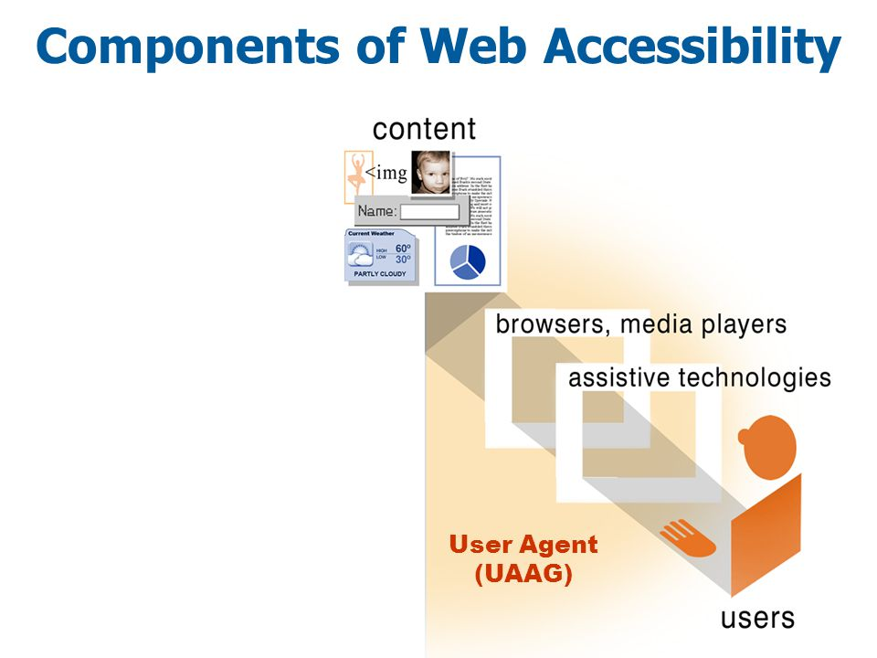 Components of Web Accessibility User Agent (UAAG)