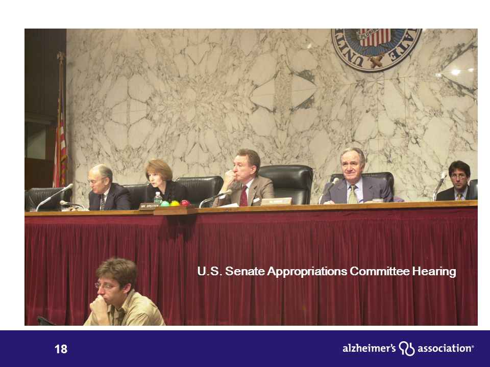 18 U.S. Senate Appropriations Committee Hearing