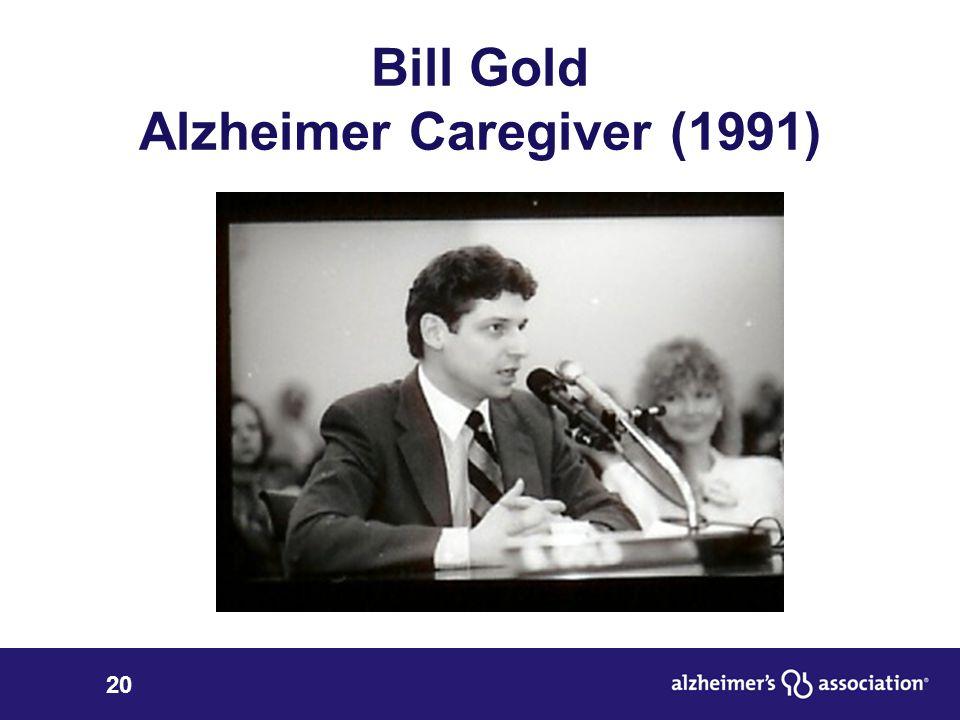 20 Bill Gold Alzheimer Caregiver (1991)