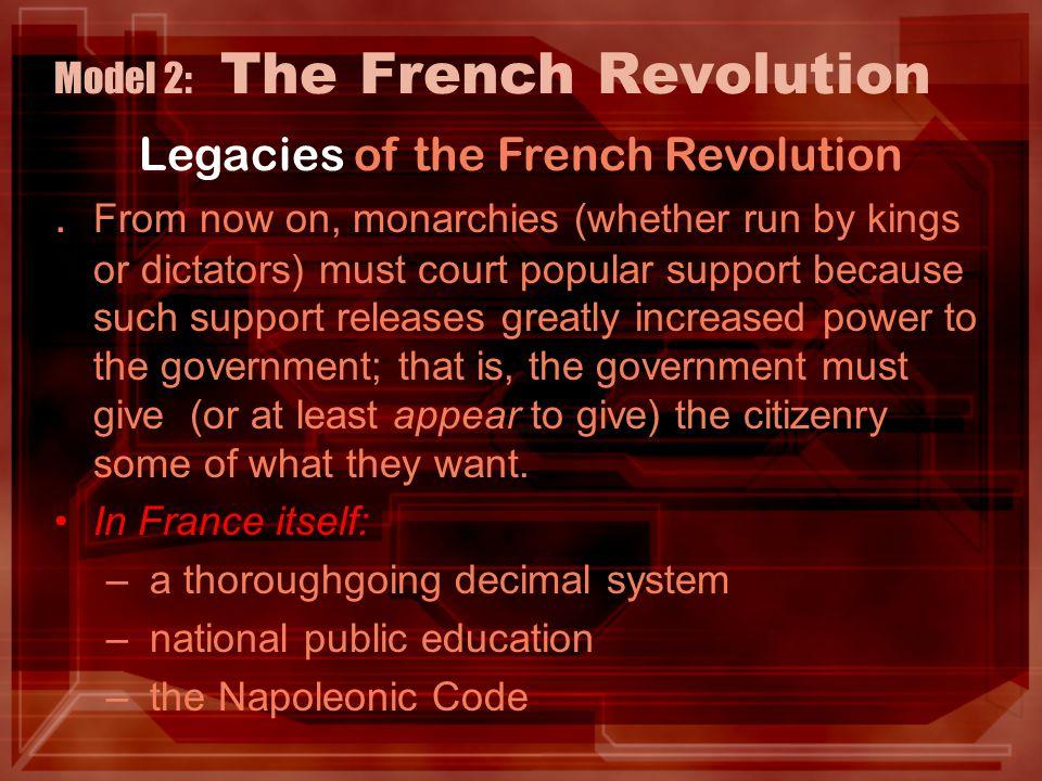 Model 2: The French Revolution.