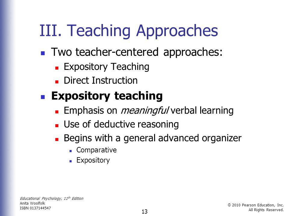 Educational Psychology, 11 th Edition Anita Woolfolk ISBN 0137144547 © 2010 Pearson Education, Inc.