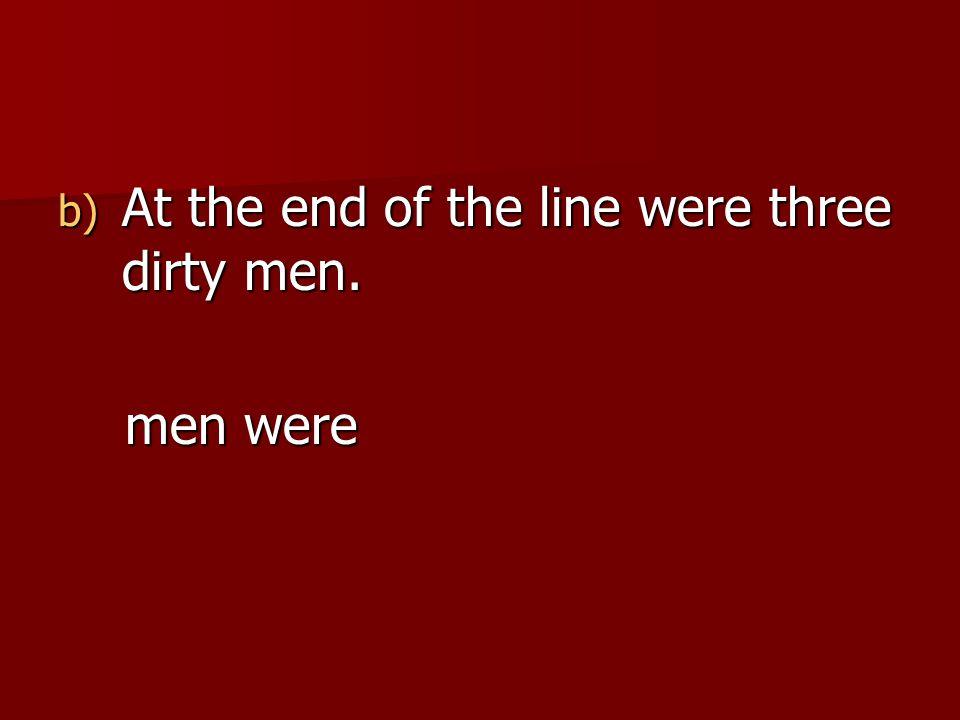 men were men were