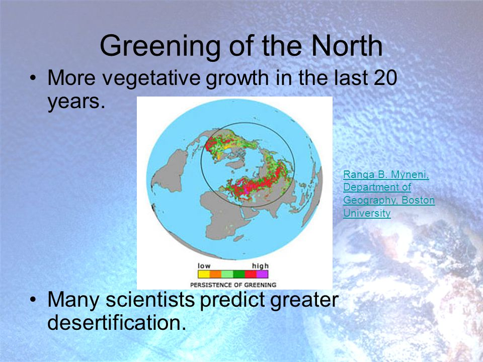 Coral Bleaching Increased sea temperatures Increased CO2 concentrations: http://www.awi-bremerhaven.de/Carbon/calcif.html