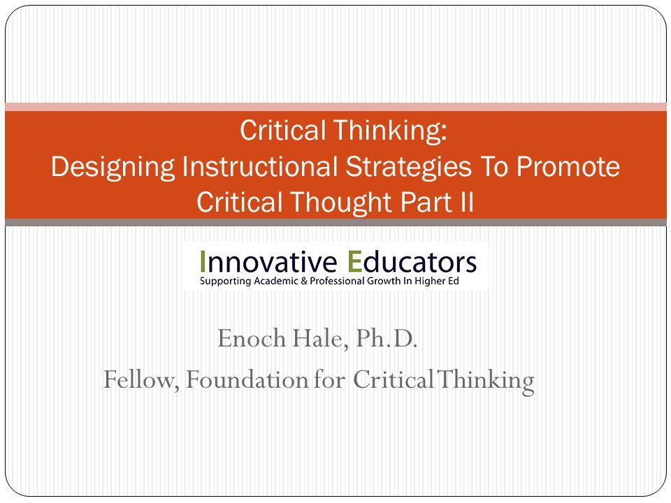 Enoch Hale, Ph.D.