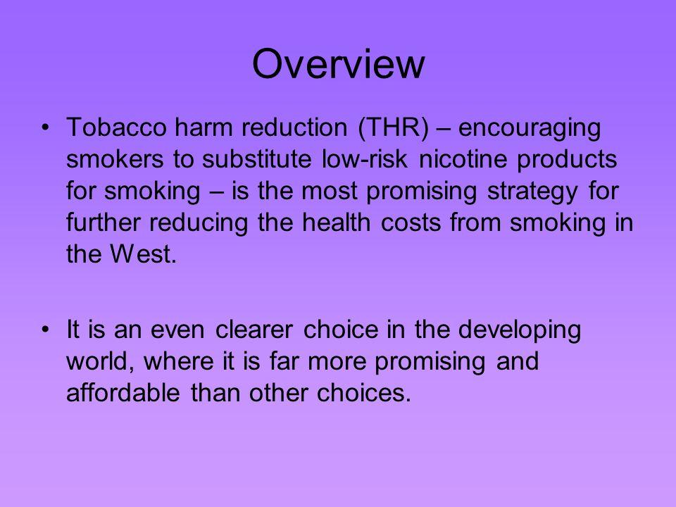 Tobacco Harm Reduction (THR) Surprised.