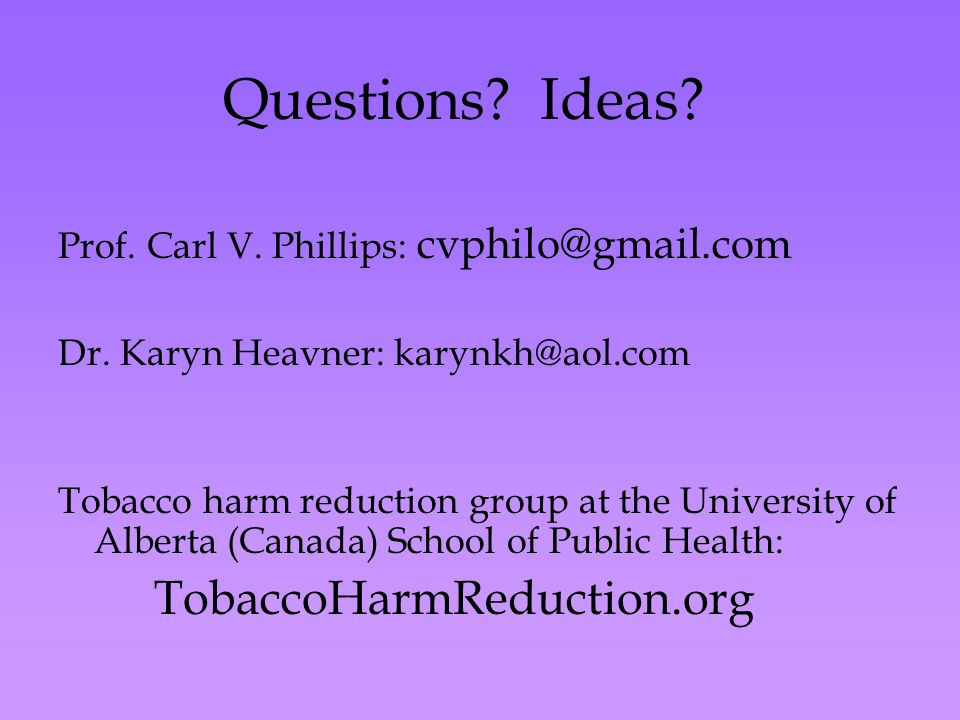 Questions. Ideas. Prof. Carl V. Phillips: cvphilo@gmail.com Dr.