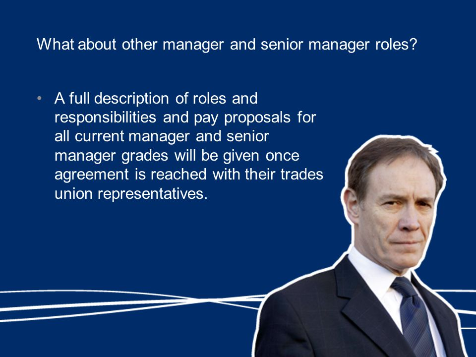 What about other manager and senior manager roles.
