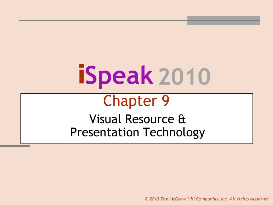 Slide 22 © 2010 The McGraw-Hill Companies, Inc.All rights reserved.
