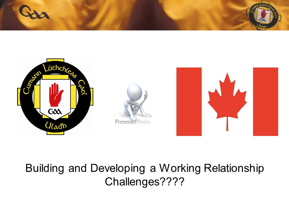 Building and Developing a Working Relationship Challenges