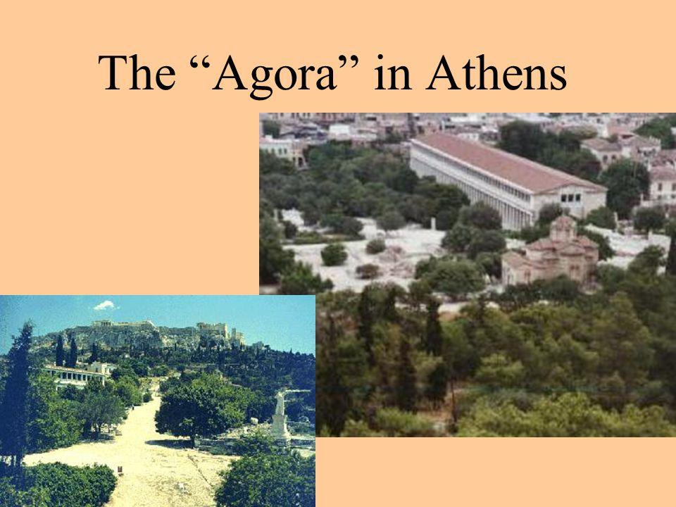 The Agora in Athens