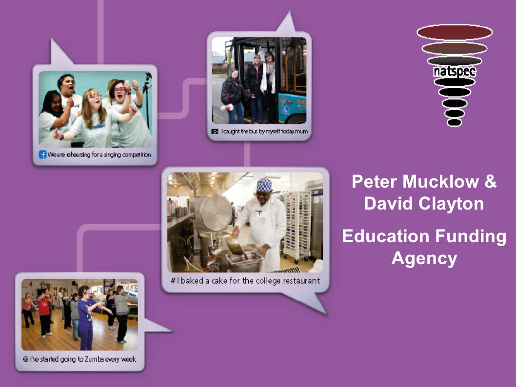 Peter Mucklow & David Clayton Education Funding Agency