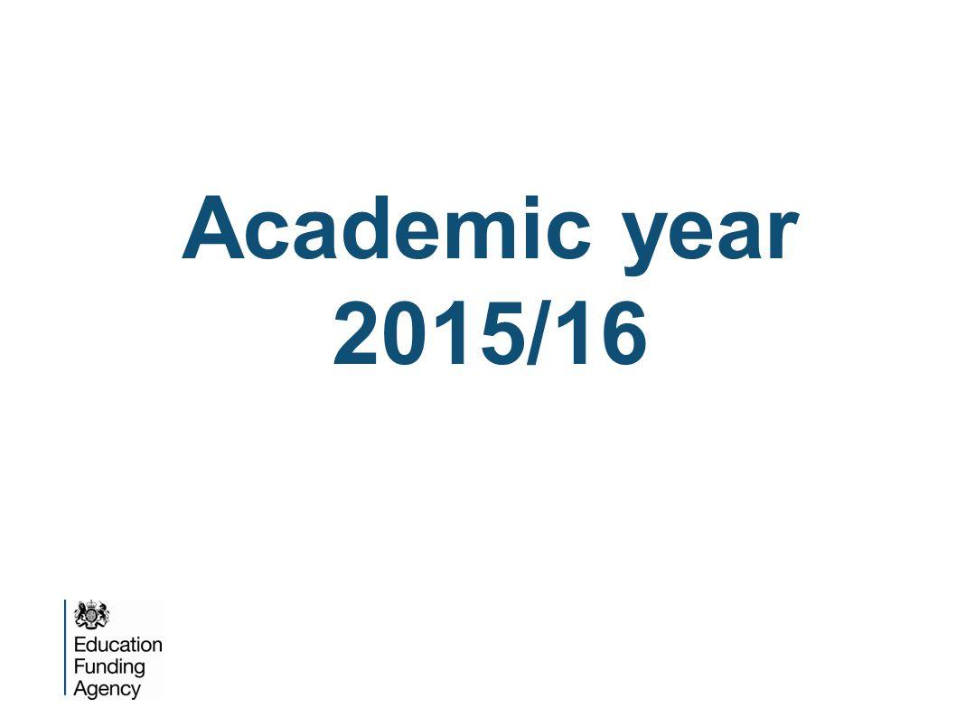 Academic year 2015/16