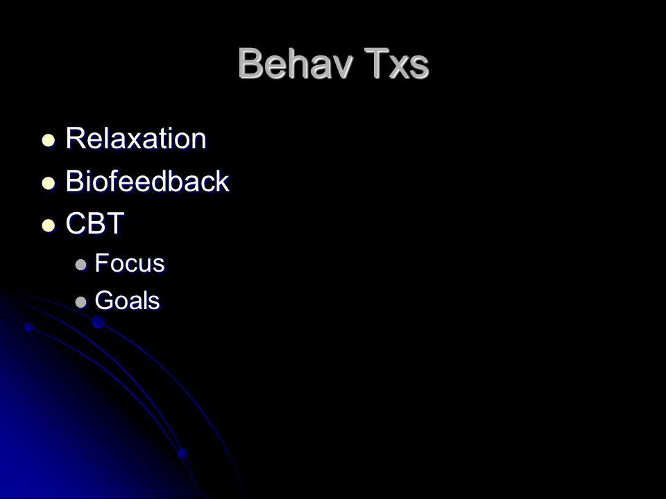 Psychological Treatments Psychoeducation Psychoeducation Hypnosis Hypnosis Behavioral Treatments Behavioral Treatments