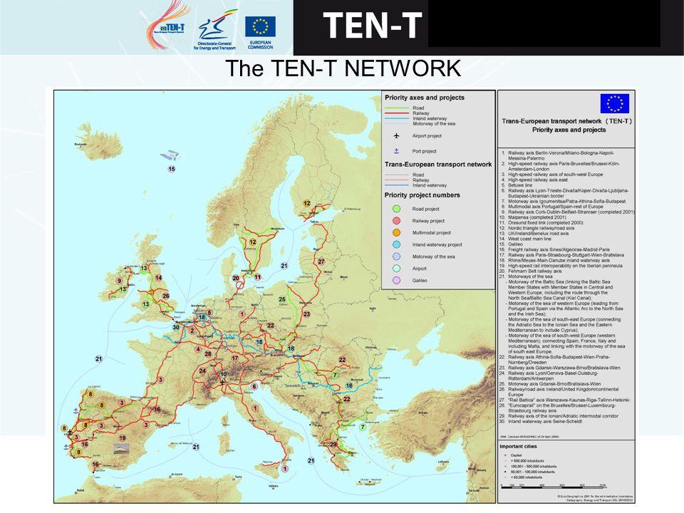 VIGO, 28 – LEIXOES, 29 junio de 2007 The TEN-T NETWORK