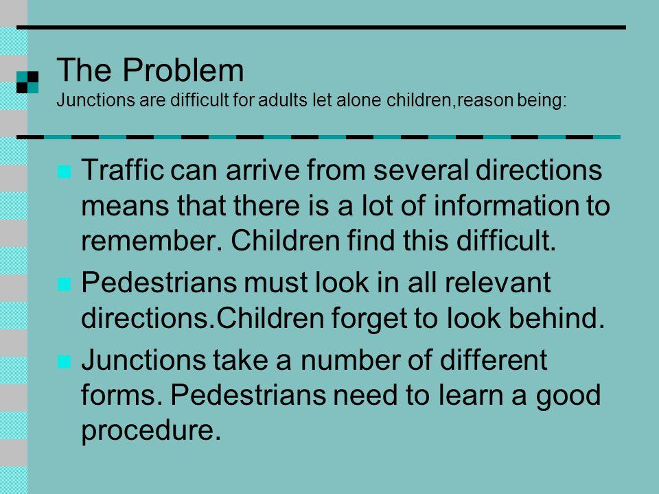 Skill Three: Crossing Safely Near Junctions