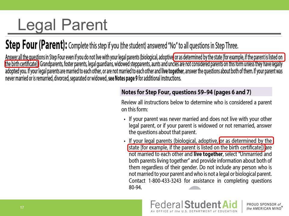 Legal Parent 17