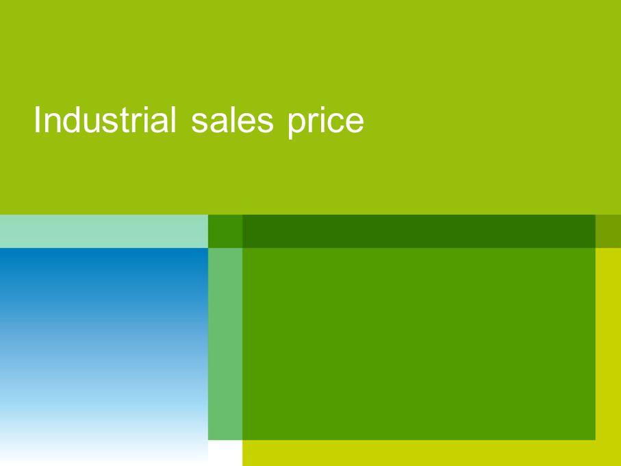 Industrial sales price