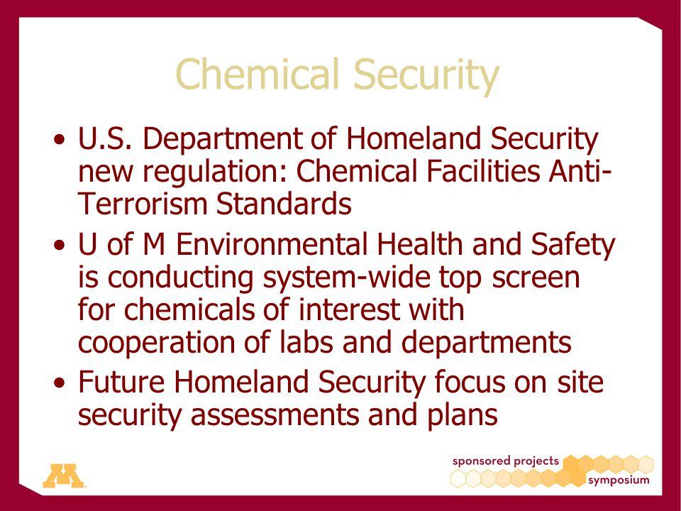 Chemical Security U.S.