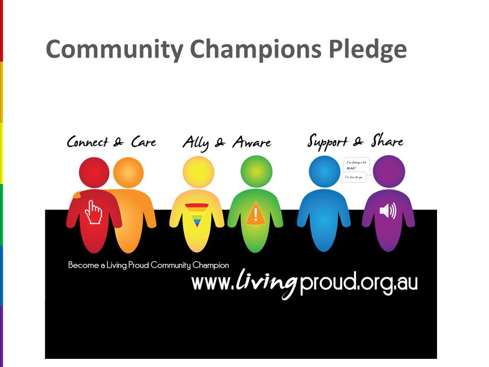 Community Champions Pledge