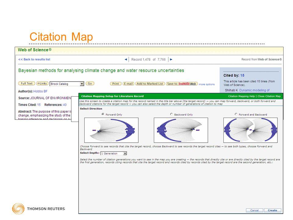Citation Map