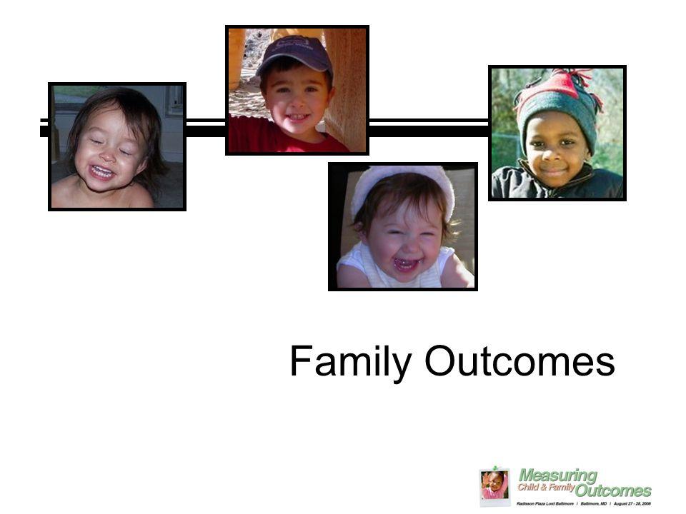 Family Outcomes