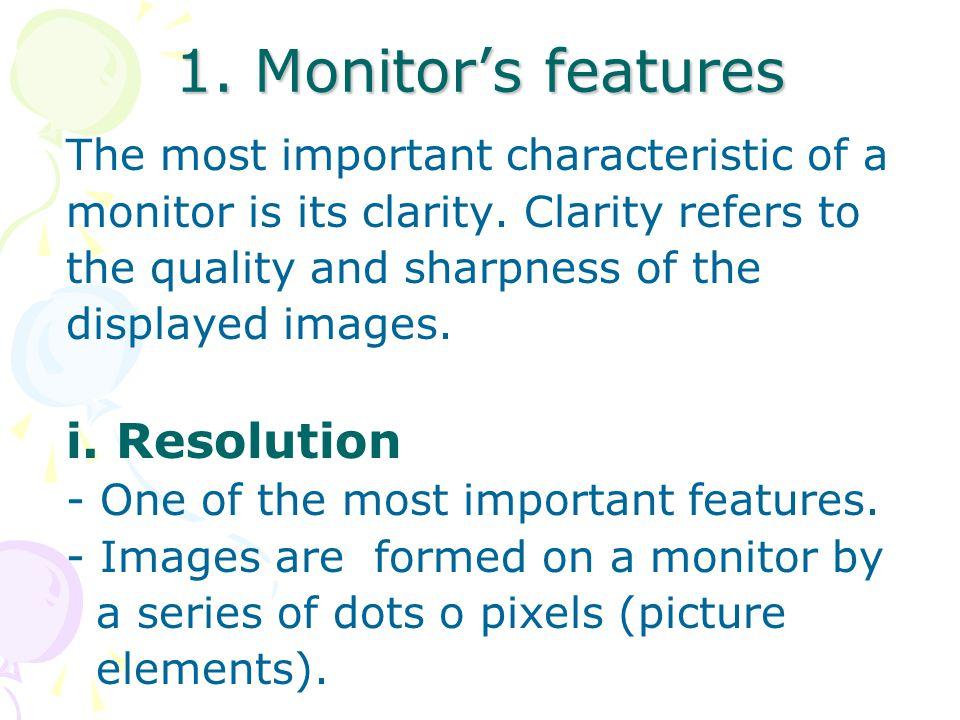 Types of flat-panel monitor i.