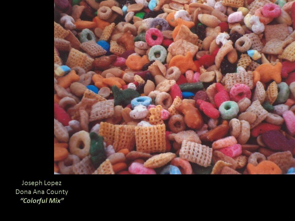 Joseph Lopez Dona Ana County Colorful Mix