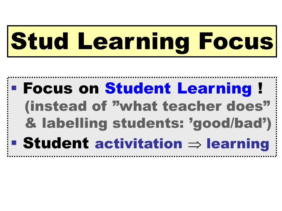 [ 40 ] Claus Brabrand Reykjavik UniversitySeptember 22, 2009 Stud Learning Focus  Focus on Student Learning .