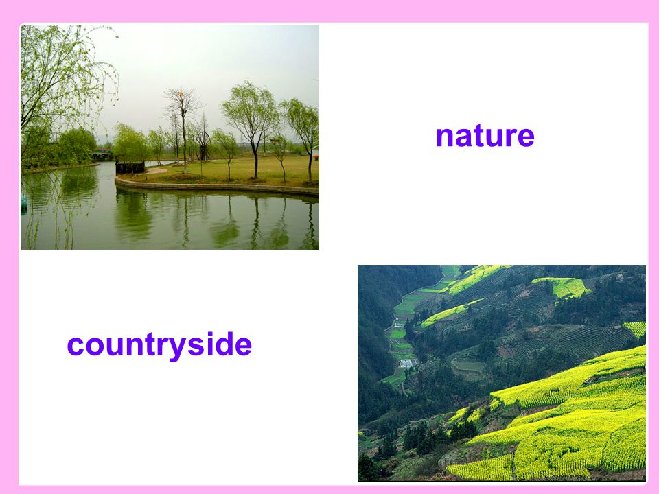 Presentation countryside