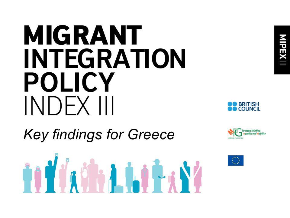 Key findings for Greece