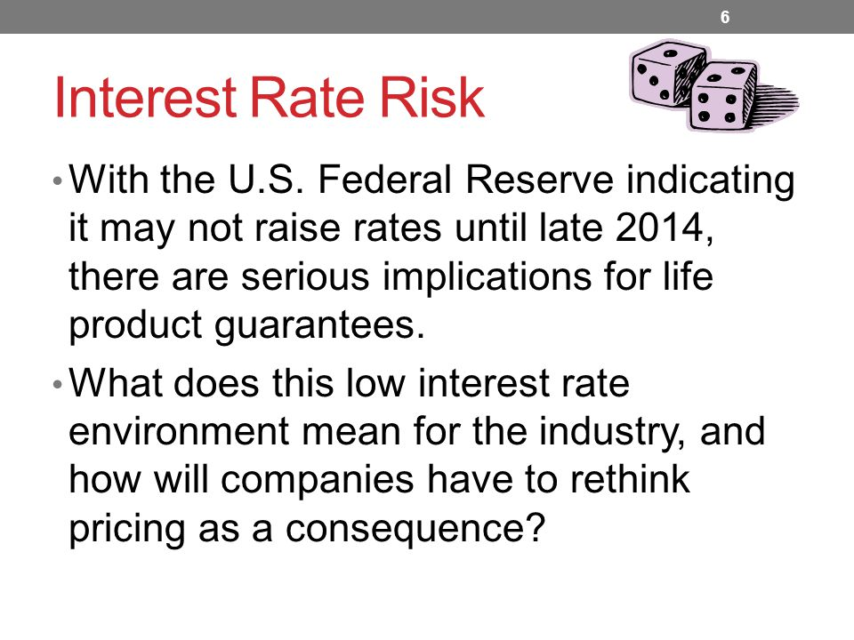 Interest Rate Risk With the U.S.