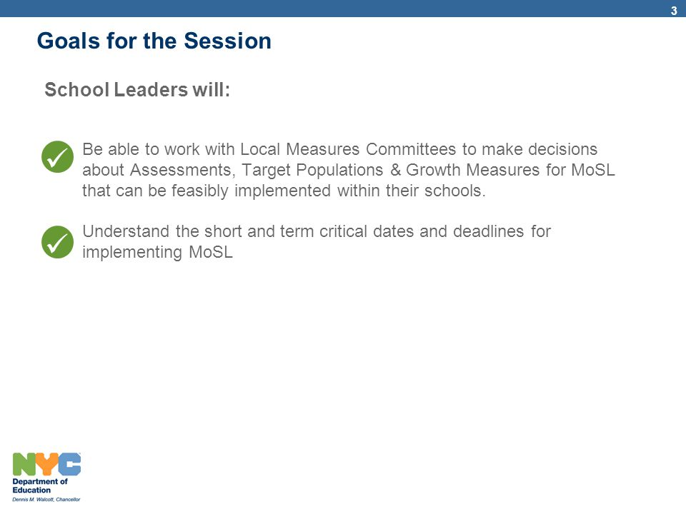 14 CFN109 Leadership MoSL Training Welcome, Review Agenda, Norms & Goals10:45 – 11:00 a.m.