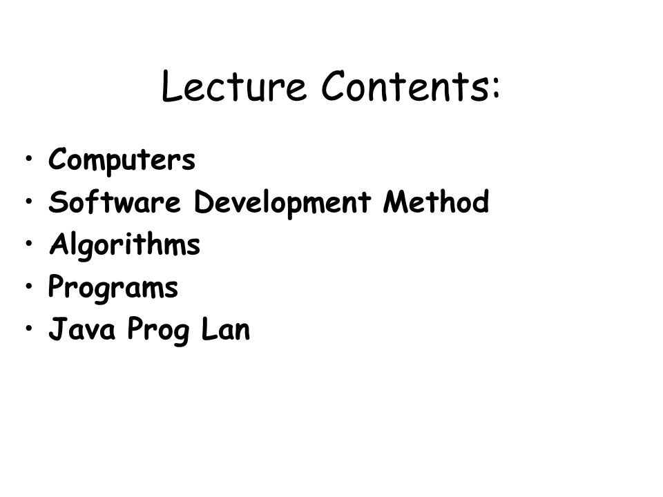 23Java Programming: From Problem Analysis to Program Design, 4e Problem-Analysis-Coding- Execution Cycle