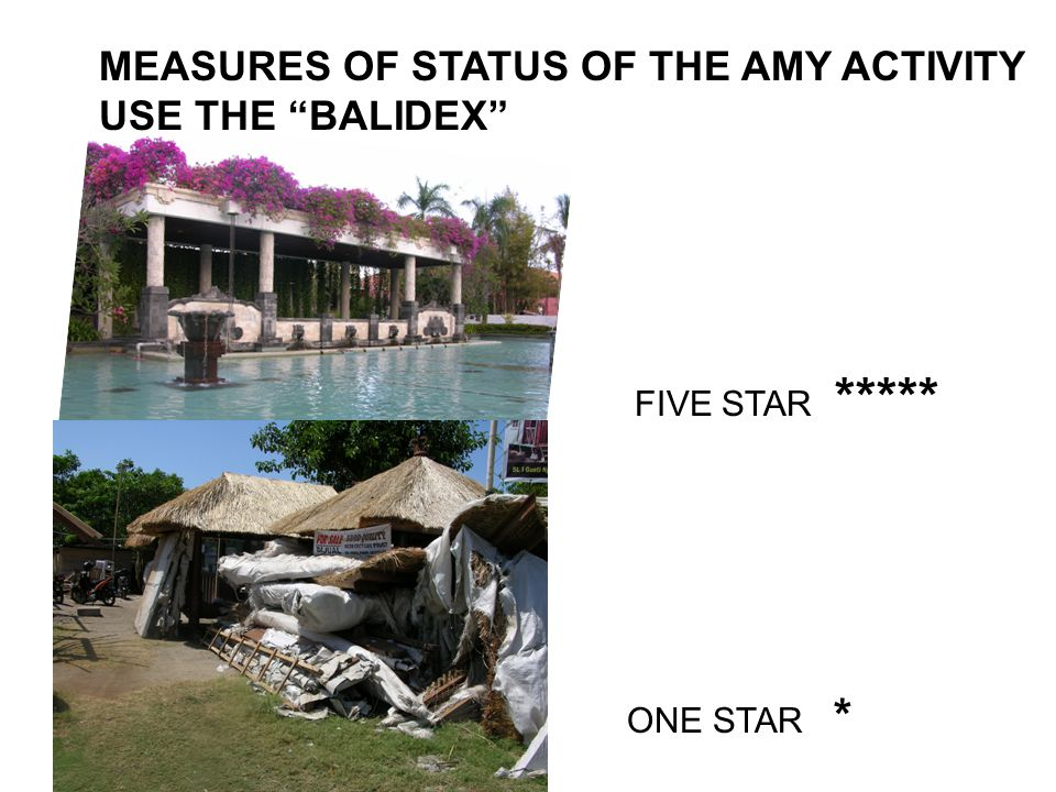 WHAT COULD AMY BE AND HOW WELL DOES IT RATE ON THE BALIDEX .