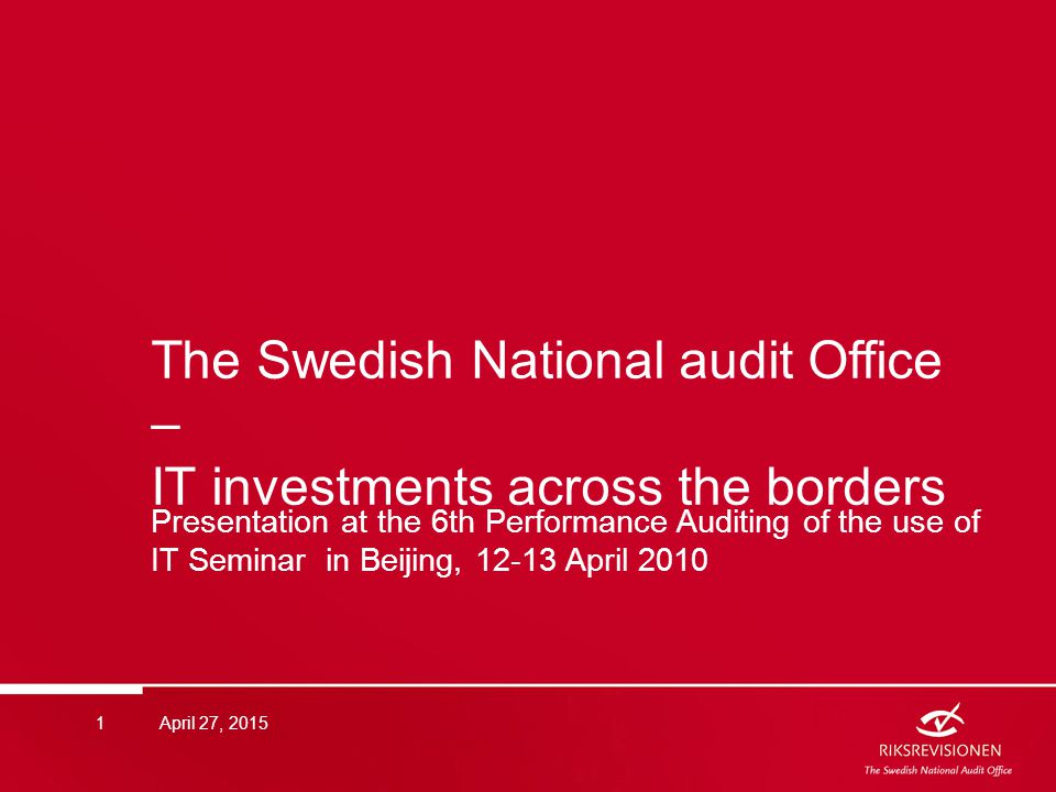 Summary  Sweden has a decentralised management of administration and administrative development.