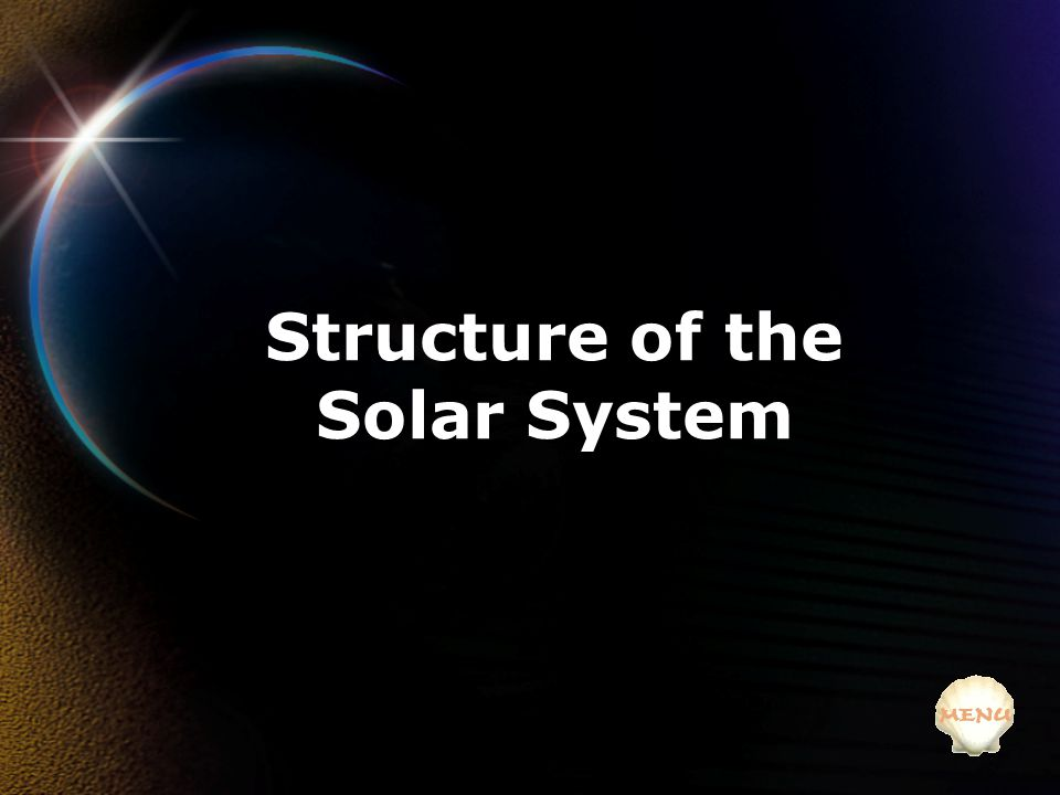 Structure of the Solar System