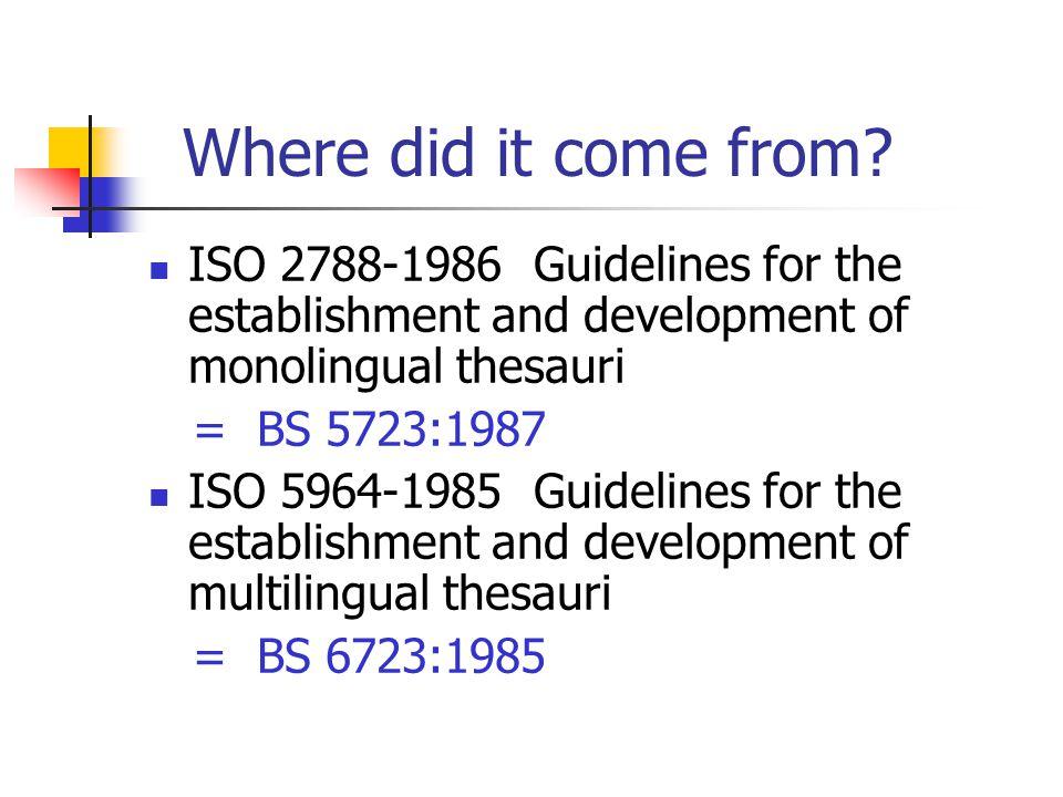 non-symmetrical thesaurus example – Greek in blue