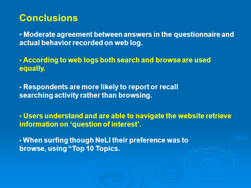 According to web logs both search and browse are used equally.