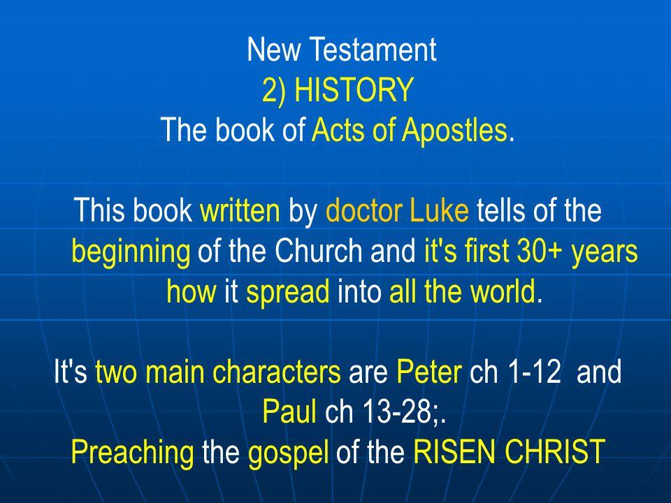 New Testament 3) 21 LETTERS Romans.1/2 Corinthians.